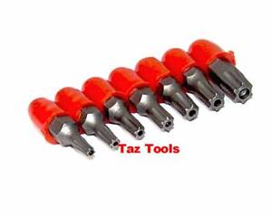 7 Pc Tamper Resistant Star Torx Bit Set 1/4