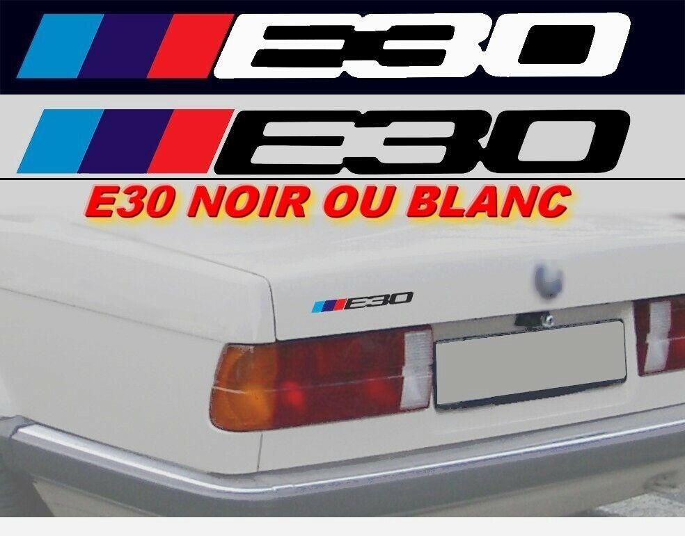 Noir /& Argent Fibre de Carbone Badge Superposé pour BMW Coupe Coffre Jantes @