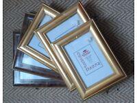 Set of 5 photo frames (3 sizes) NEW & sealed