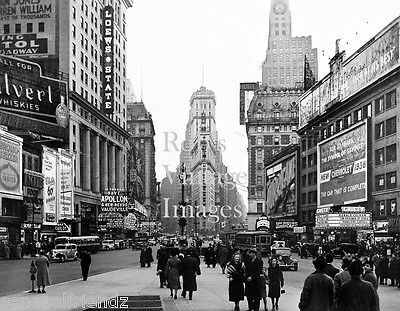 New York City photo Times Square 1938 Loews State Theater Vintage photo 2