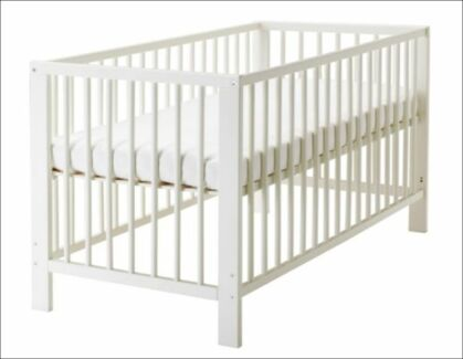 IKEA Baby/Infant Cot and Mattress in very good conditions Fitzroy Yarra Area Preview