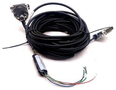 Aerotech Ce161071-61 Configured Motor Cable Hi Flex 25 Pin Length 20