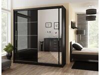 Brand New Mirrored Sliding Wardrobe