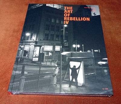 "Graffiti Buch / Magazine ""THE ART OF REBELLION IV"" Streetart Montana Molotow MTN"