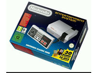 Nintendo Classic Mini with 30 games built in BRAND NEW