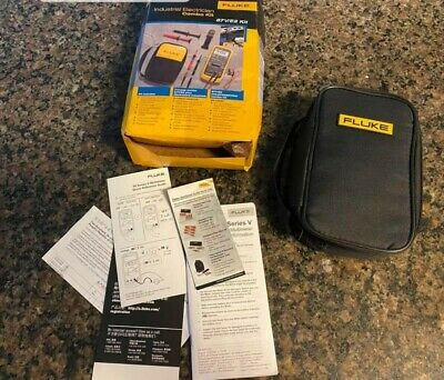 Fluke 87ve2 Industrial Electrician Combo Kit 87v  New In Box  Msrp 485