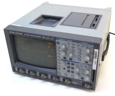Lecroy 9354am 500 Mhz 4-channel Digital Oscilloscope Sngle 2 Gss - Quad 500 Ms