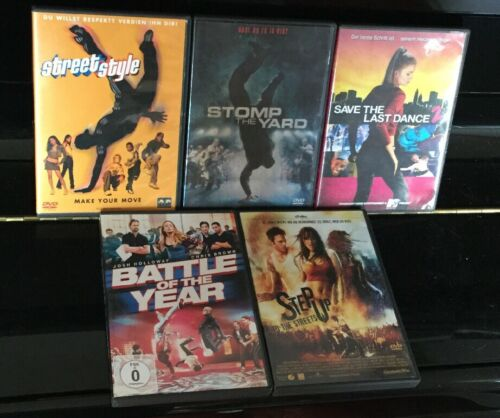 DVD Sammlung TANZ DANCE HIP-HOP FILME *** 5 Filme