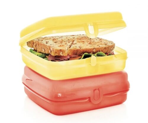 Tupperware Sandwich Keepers Set of 2 New