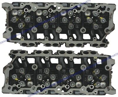 03-10 Ford Super Duty 6.0 6.0L Powerstroke Diesel Cylinder Heads 18MM 20MM VT365