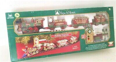 New Bright Trim A Home HOLIDAY EXPRESS # 178 Christmas Train Set - NOS