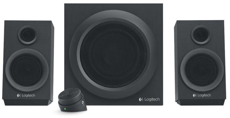 Logitech z333 2.1 Multimedia Speakers (2-Piece) Black 980-001203