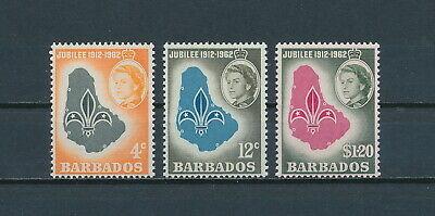 Barbados  254-6 MNH, Boy Scouts, 1962