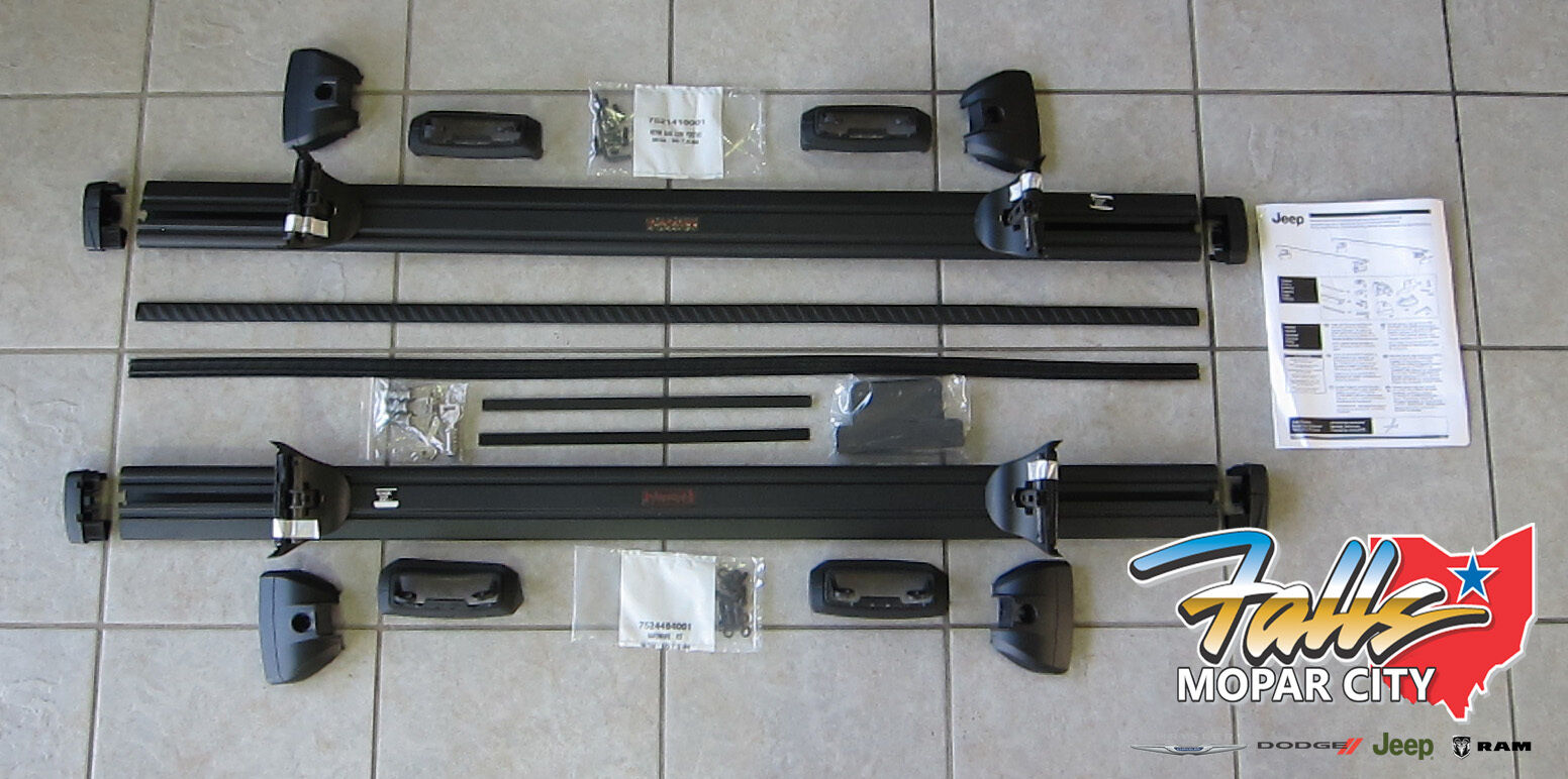 Dodge Dakota 2017 >> 2017-2018 Jeep Compass Lockable Cross Rail Roof Rack Kit ...