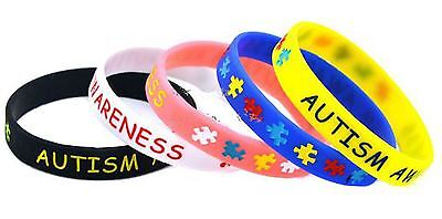 Autism Awareness Rubber Silicone Bracelet (Rubber Bracelet)