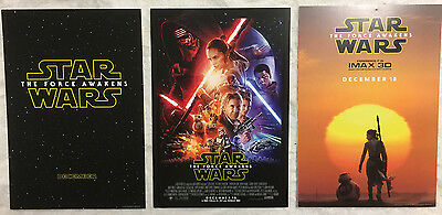 Set of 3, Star Wars; The Force Awakens Mini Movie Posters 10