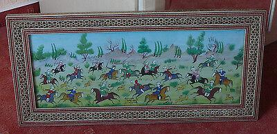 alte Indische Malerei - Volkskunst