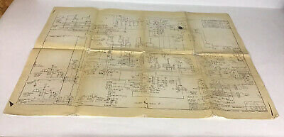 Curtiss Wright Corp 1955 Map Electronics CarlstadtNJ System Fuel Metering 808358