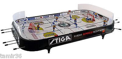 Stiga Tischeishockey High Speed Neue Version Tablehockey Eishockey Tisch kicker gebraucht kaufen  Kelkheim
