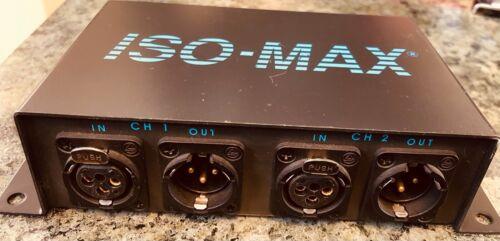 Jensen ISO-MAX MS-2XX Two channel mic splitter XLR-IN, XLR-OUT
