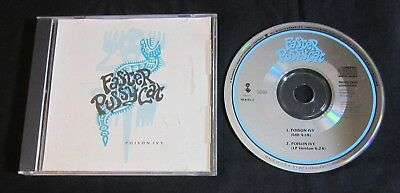 FASTER PUSSYCAT 'POISON IVY' 1989 PROMO CD SINGLE for sale  Shipping to India