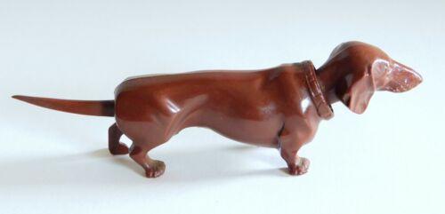 Vintage S.A. Reider Co. Plastic Nodder Dachshund Dog Germany