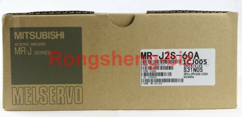 1pc New In Box Mitsubishi Mr-j2s-60a #wm06