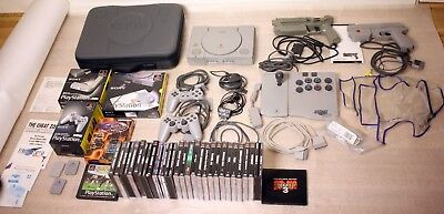 PLAYSTATION BUNDLE-51 ORIGINAL ITEMS-FULLY WORKING-SUPER RARE-FREE POST EUROPE for sale  Shipping to Nigeria