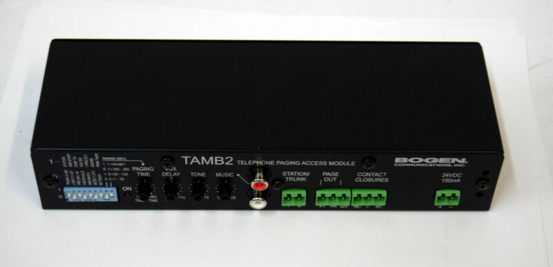 Bogen TAMB2 Telephone Access Module (no ac adaptr)