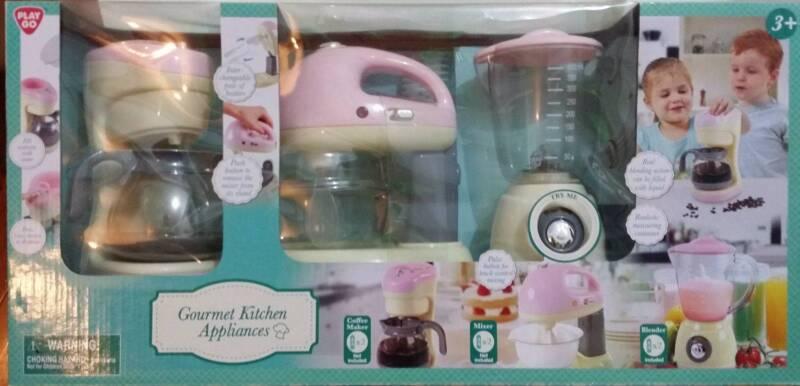 Playgo Gourmet Kitchen Appliances Pink