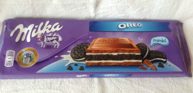 Milka Chocolate Oreo Large 300g Bar Stock. Post Great Gift.   eBay