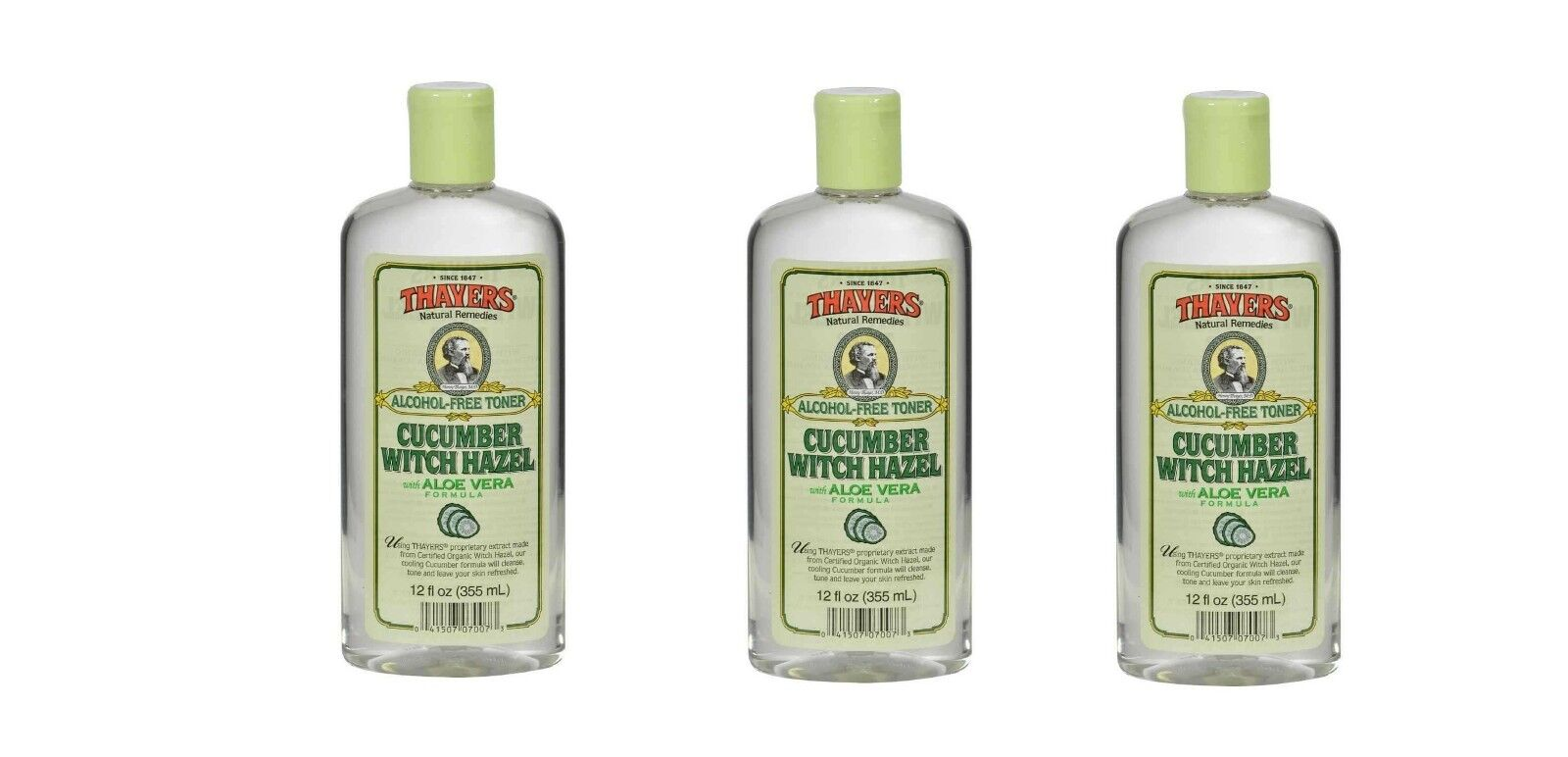 3 thayers witch hazel with aloe vera