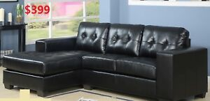 LEATHER SECTIONAL SOFA FOR 399 ONLY
