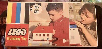 Vintage LEGO Set Number 285 - Medium Basic Set, Original Box, 268/288 Pieces
