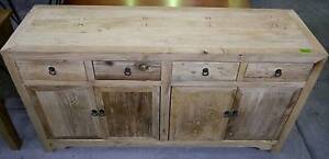 New Provincial Rustic Recycled Timber Sideboards Buffets Storage Melbourne CBD Melbourne City Preview