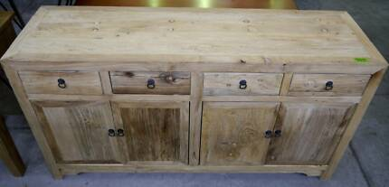 New Provincial Rustic Recycled Timber Sideboards Buffets Storage
