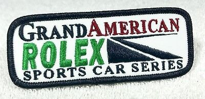 ROLEX Patch Grand American Sports Car Series Explorer Daytona Submariner GMT