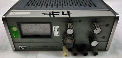 Hp 6177b Dc Current Source 0-50v 0-500ma Hewlett Packard Adjustable Electrical