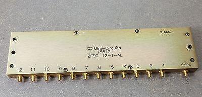 Mini-circuits 15542 Zfsc-12-1-4l