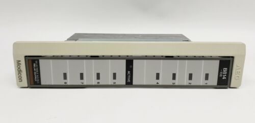AEG Modicon AS-B814-108  PLC Relay Output Module with Manual