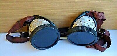 Vintage Rarity Goggles Protective Dark Welder Gas Welding 1969 Ussr
