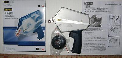Scotch Atg 752c Adhesive Transfer Tape Dispenser Applicator Gun