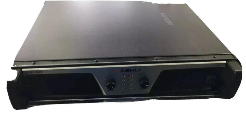 Ashly KLR-5000 Power Amplifier 2 x (2500W 2)(1700W 4)(1000W 8) Ohms