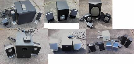 MANY CHOICES, Computer speaker system 2.1 with subwoofer