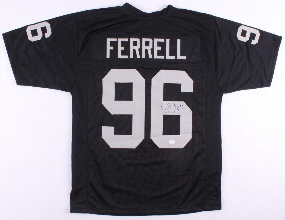 Clelin Ferrell Signed Oakland Raiders Jersey JSA COA 4 Overall Pck 2019 Draft - $79.95