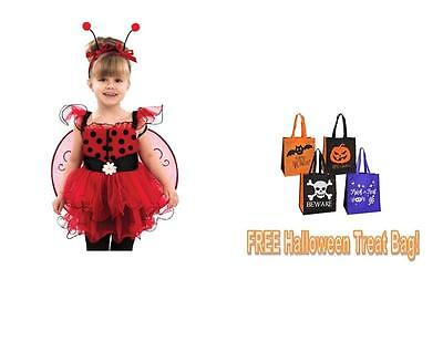 LADYBUG TODDLER GIRL HALLOWEEN COSTUME 18-24 months + FREE TREAT BAG!](Halloween Costume Balloons)