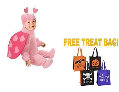 Infant's 0-9 months HALLOWEEN COSTUME LOVEBUG Ladybug FREE Treat Bag Child's](Halloween Costume Balloons)