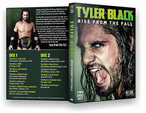 Official-ROH-Ring-of-Honor-Tyler-Black-Rise-From-The-Fall-2-Disc-Set-DVD