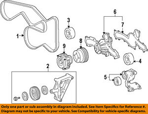 TOYOTA OEM 90916A2001 Serpentine Belt/Fan Belt/Serpentine Belt