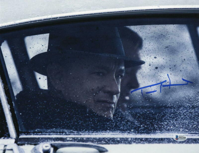 TOM HANKS SIGNED 11X14 PHOTO BRIDGE OF SPIES AUTHENTIC AUTOGRAPH BECKETT COA A